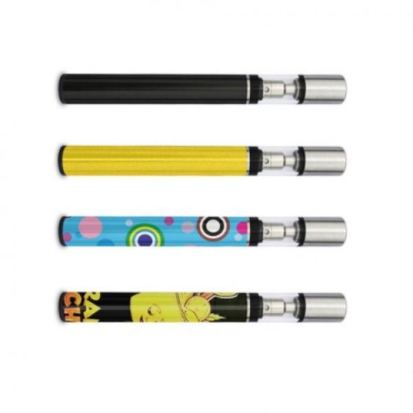 Black Color Plastic Tube Top Filling Disposable Ceramic Vape Pen for Cbd Oil